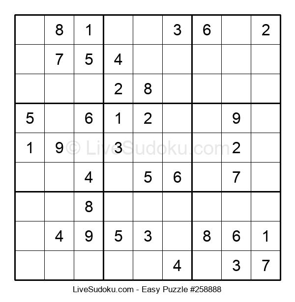 Beginners Puzzle #258888