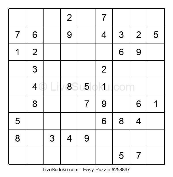 Beginners Puzzle #258897