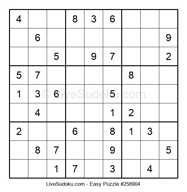 Beginners Puzzle #258904