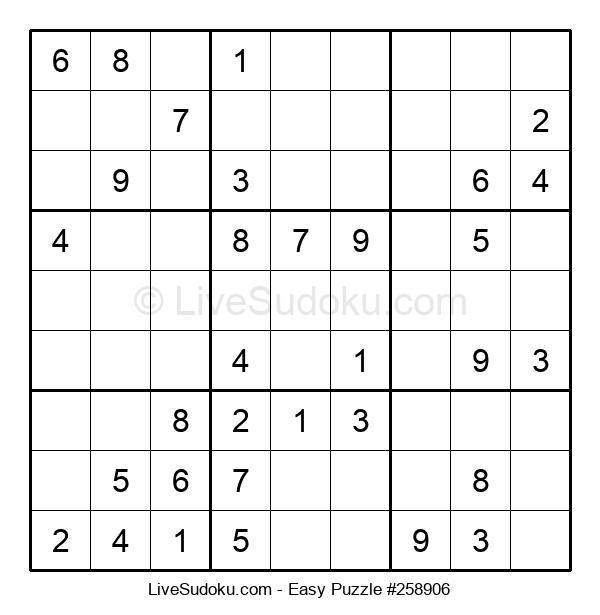 Beginners Puzzle #258906