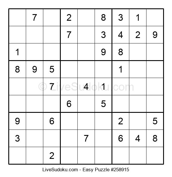 Beginners Puzzle #258915