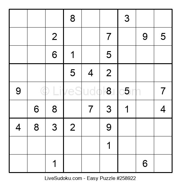 Beginners Puzzle #258922