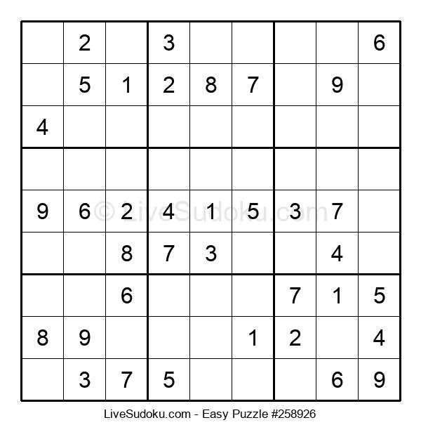 Beginners Puzzle #258926