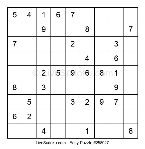 Beginners Puzzle #258927