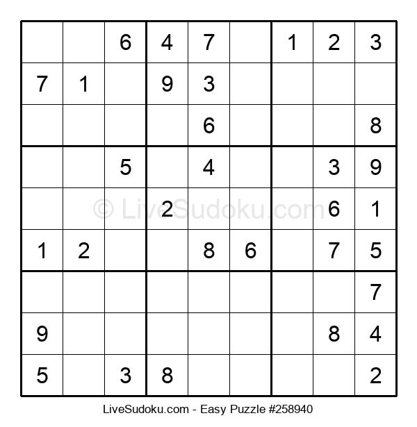 Beginners Puzzle #258940