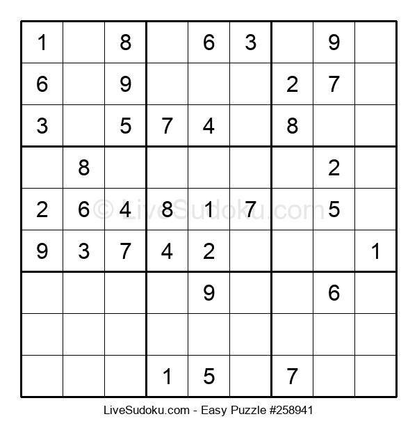 Beginners Puzzle #258941