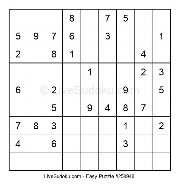 Beginners Puzzle #258948