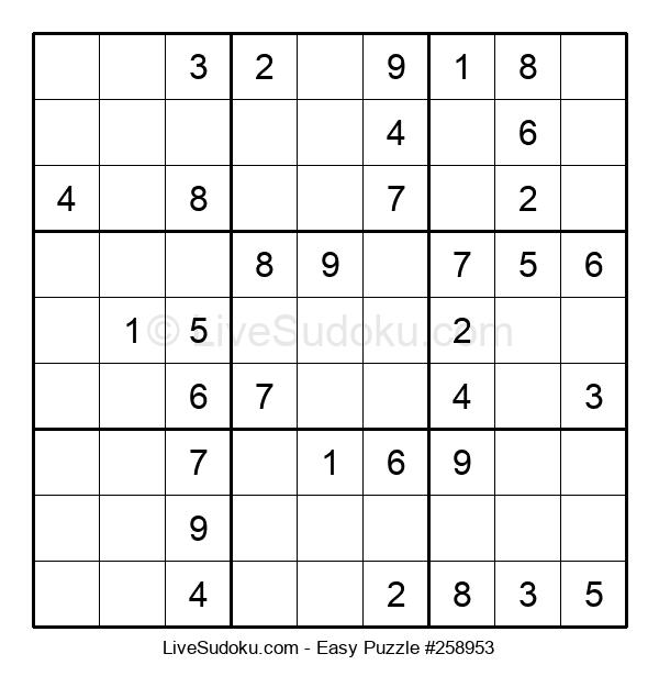 Beginners Puzzle #258953