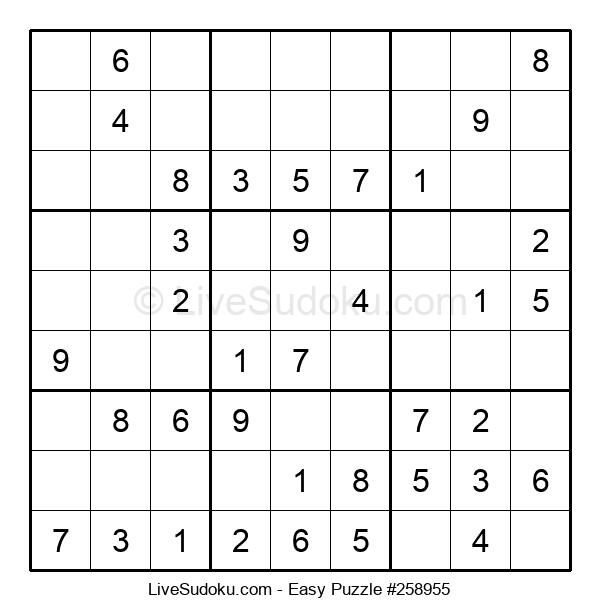 Beginners Puzzle #258955