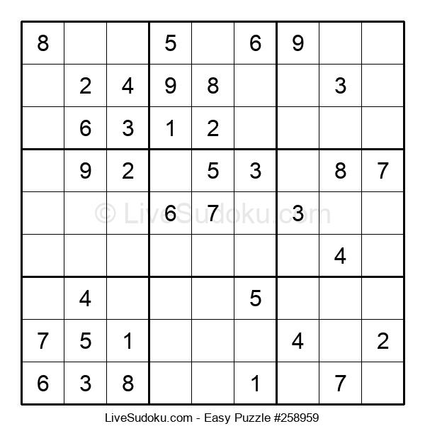 Beginners Puzzle #258959