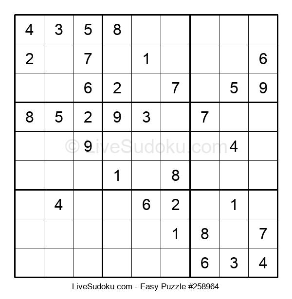 Beginners Puzzle #258964