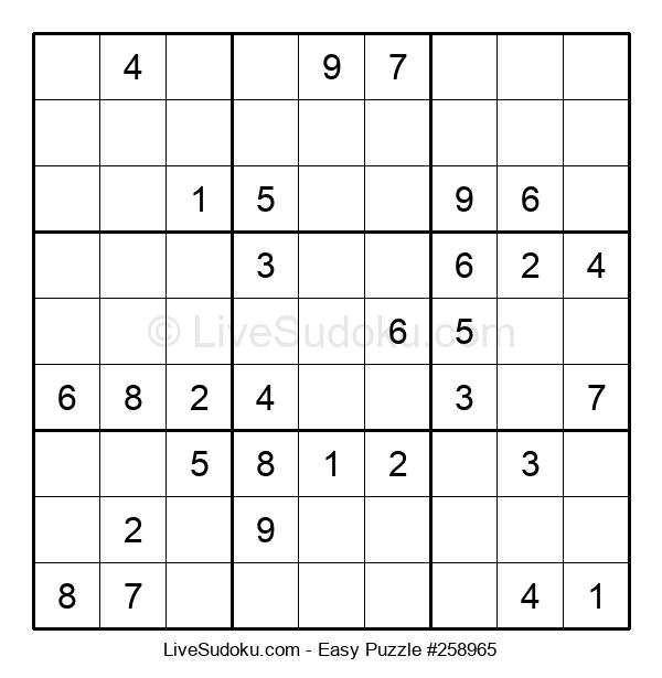 Beginners Puzzle #258965