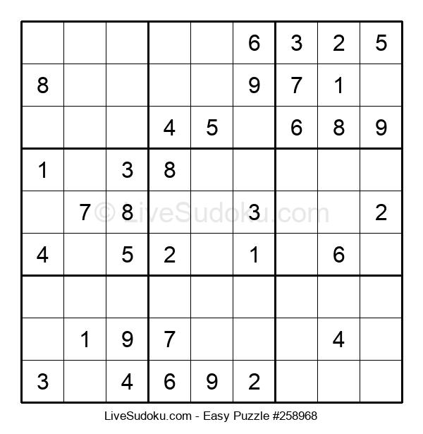 Beginners Puzzle #258968
