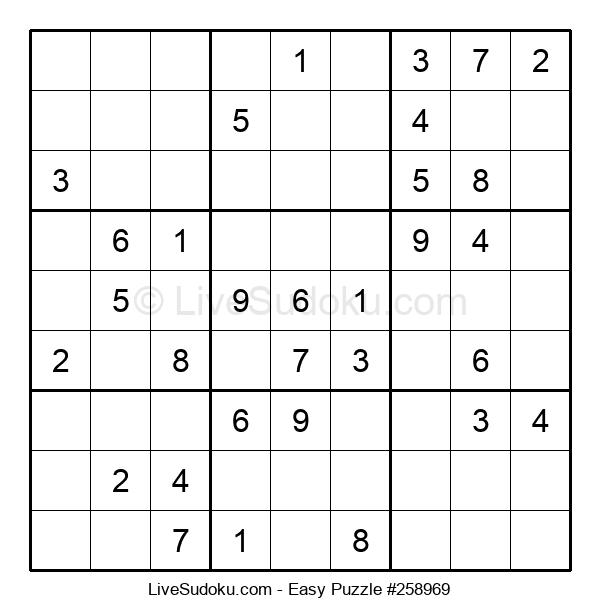 Beginners Puzzle #258969