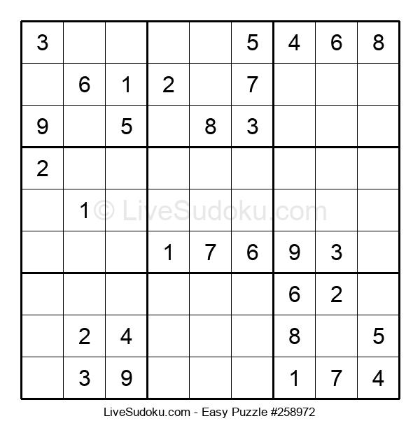 Beginners Puzzle #258972