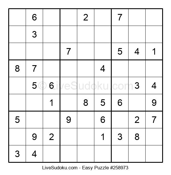 Beginners Puzzle #258973