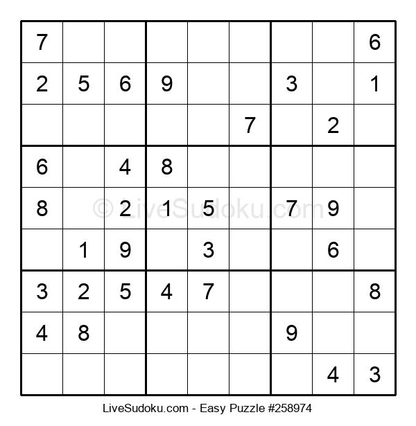 Beginners Puzzle #258974