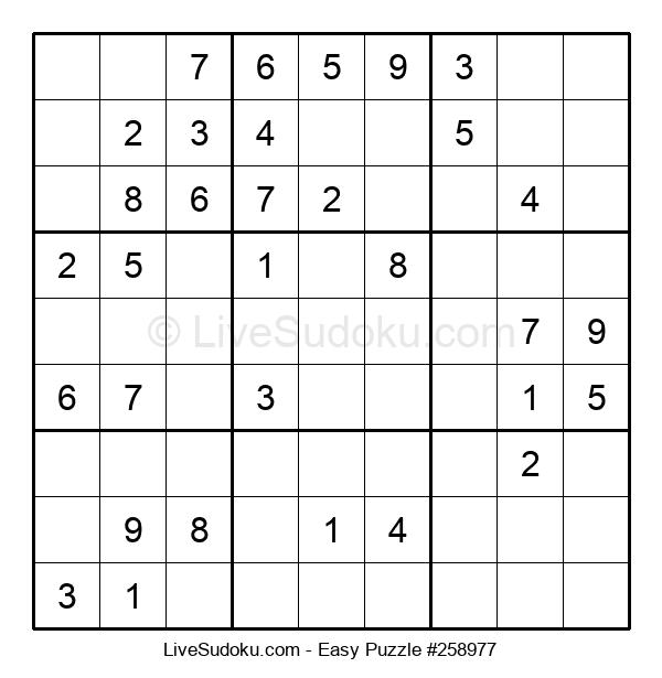 Beginners Puzzle #258977