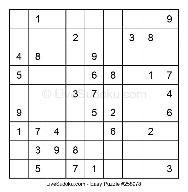 Beginners Puzzle #258978