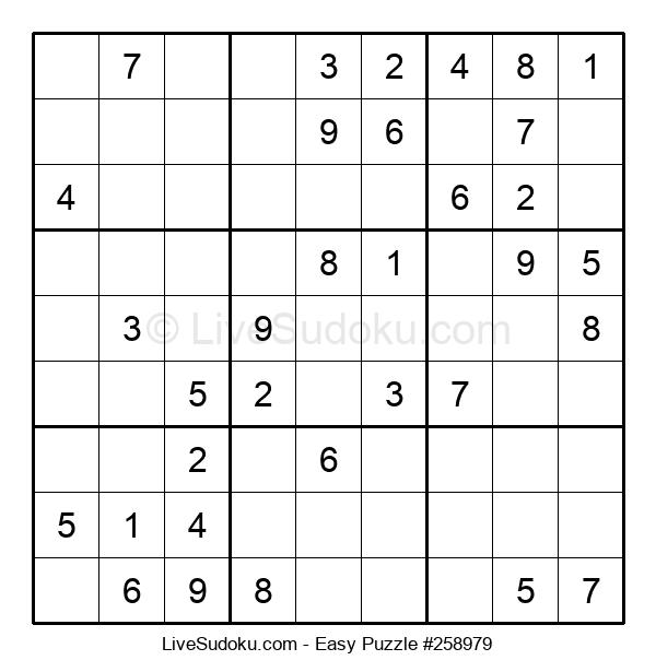 Beginners Puzzle #258979