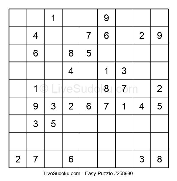 Beginners Puzzle #258980