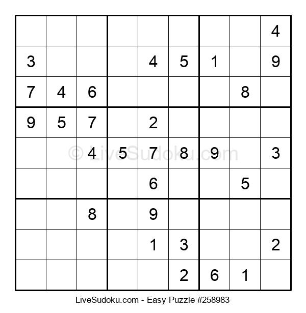 Beginners Puzzle #258983