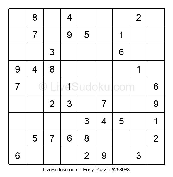 Beginners Puzzle #258988
