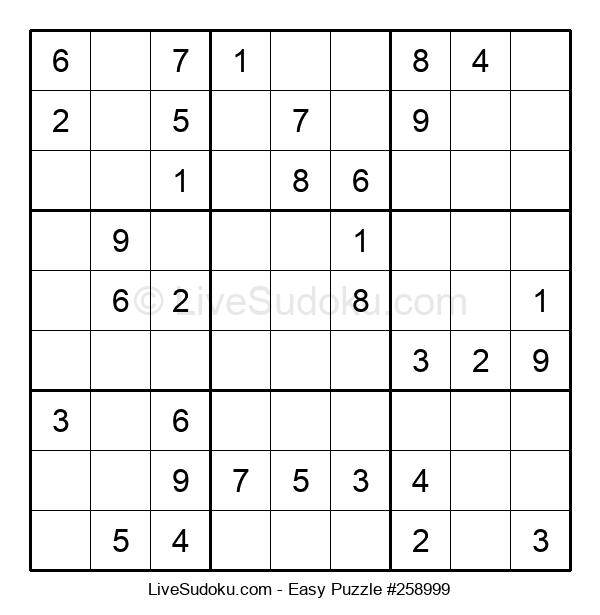 Beginners Puzzle #258999