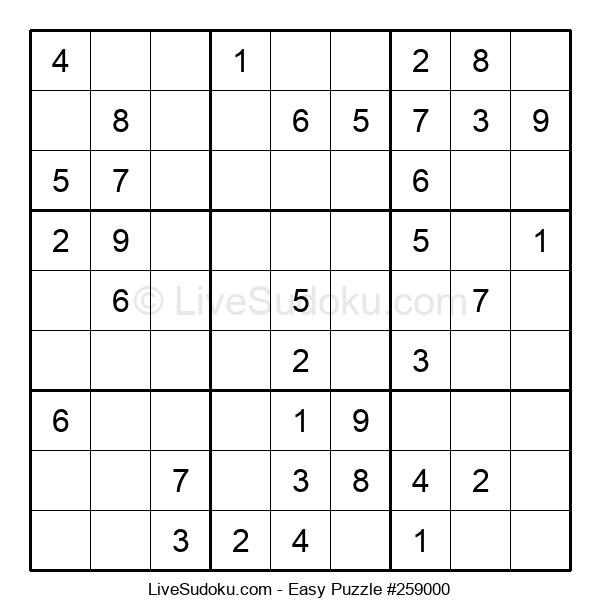 Beginners Puzzle #259000