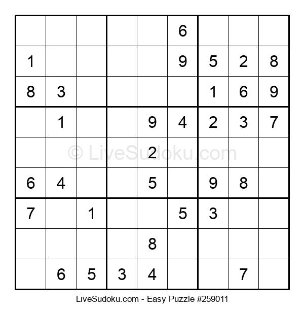Beginners Puzzle #259011