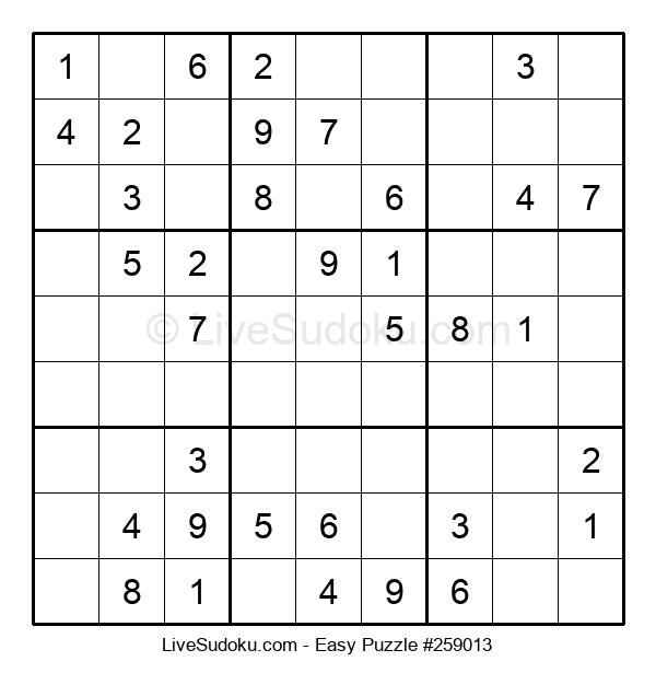 Beginners Puzzle #259013