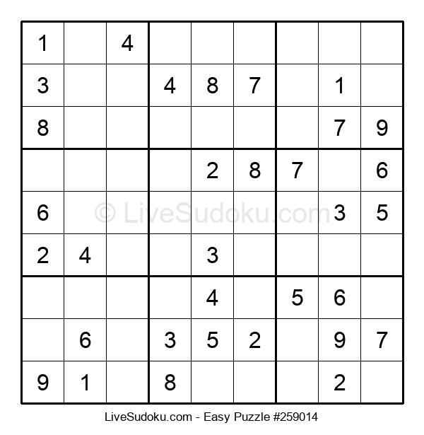 Beginners Puzzle #259014