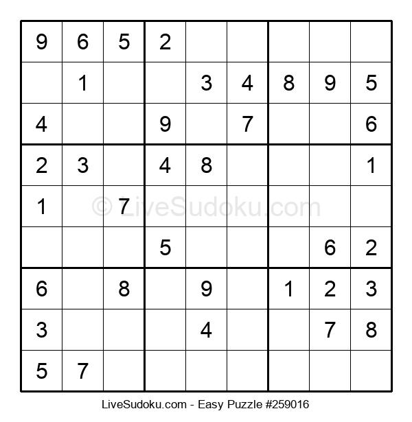 Beginners Puzzle #259016