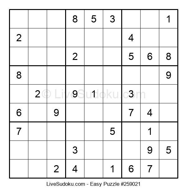 Beginners Puzzle #259021