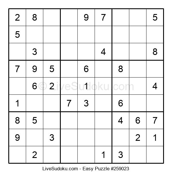 Beginners Puzzle #259023