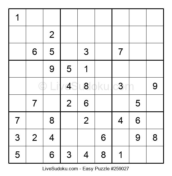 Beginners Puzzle #259027
