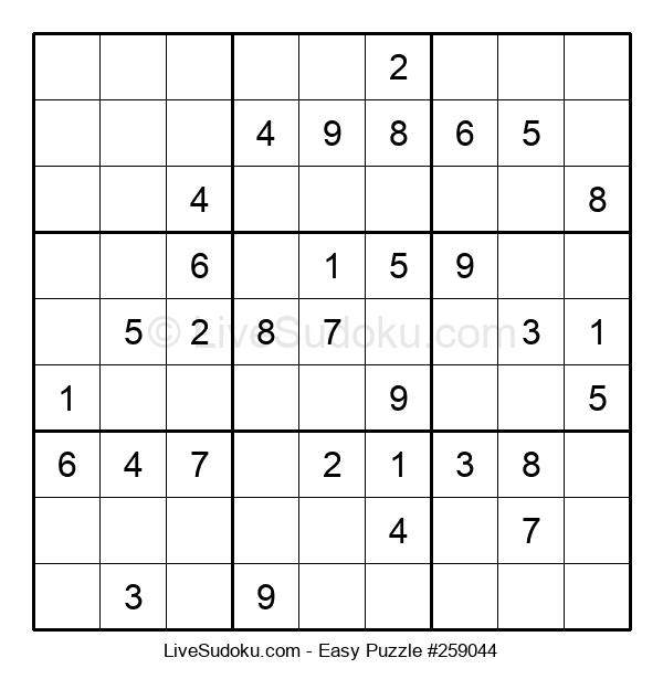 Beginners Puzzle #259044