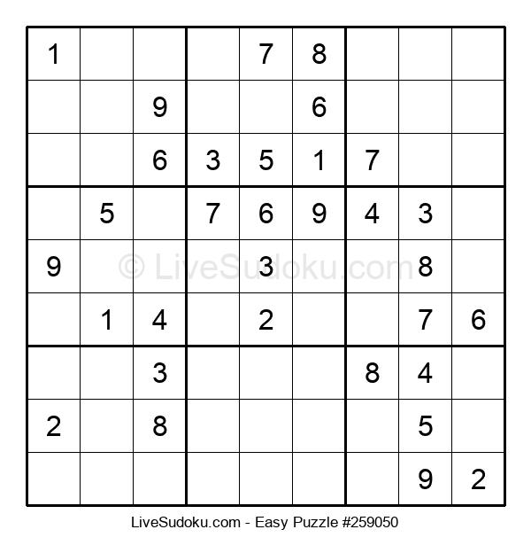 Beginners Puzzle #259050