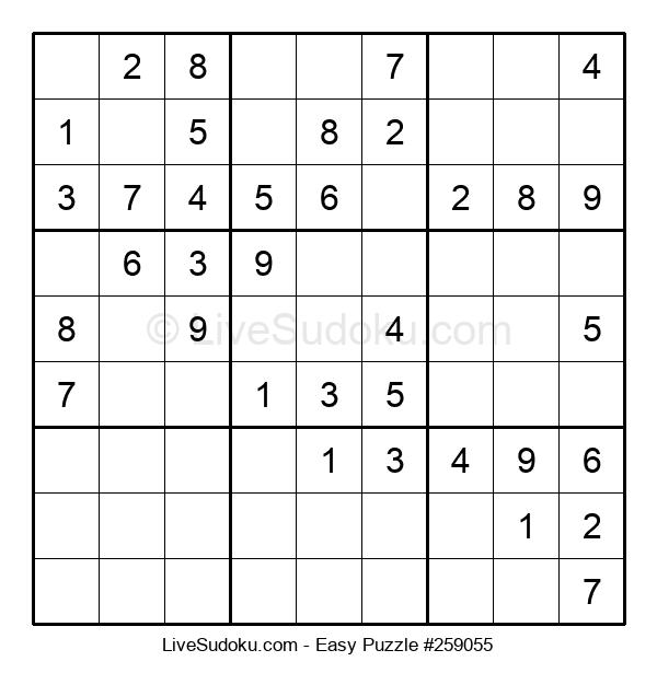 Beginners Puzzle #259055