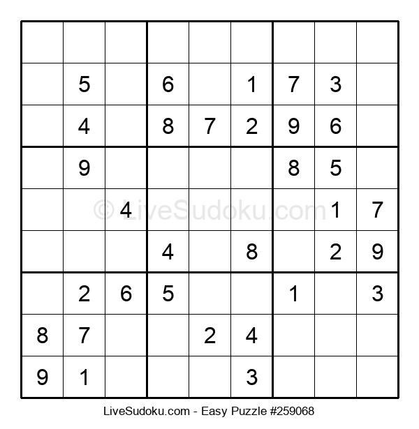 Beginners Puzzle #259068