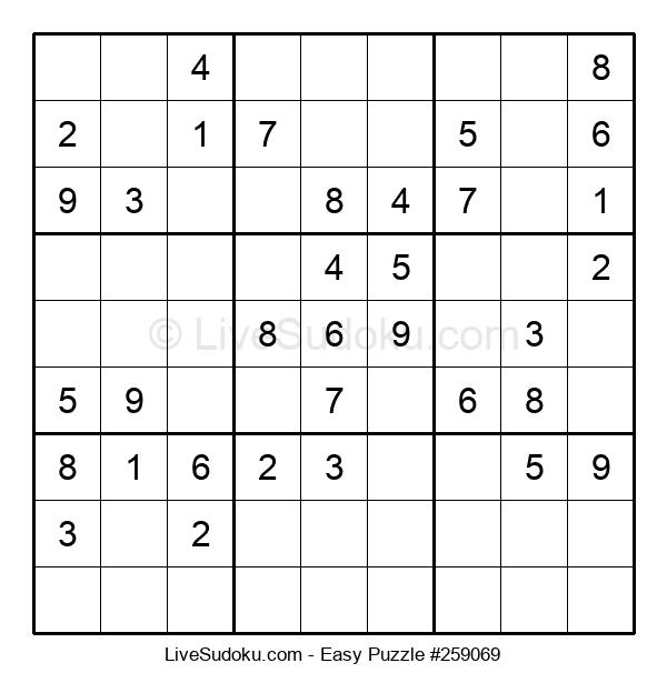 Beginners Puzzle #259069