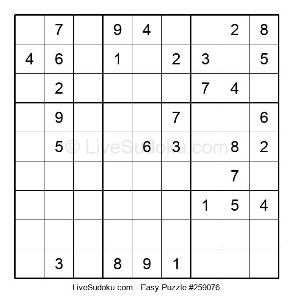 Beginners Puzzle #259076