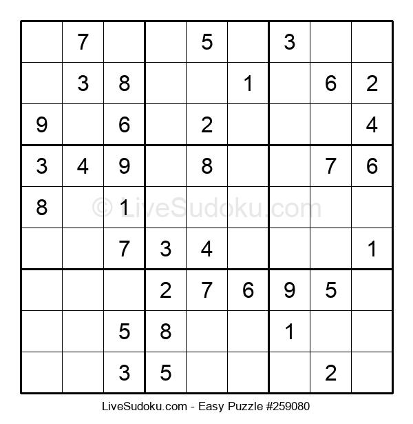Beginners Puzzle #259080