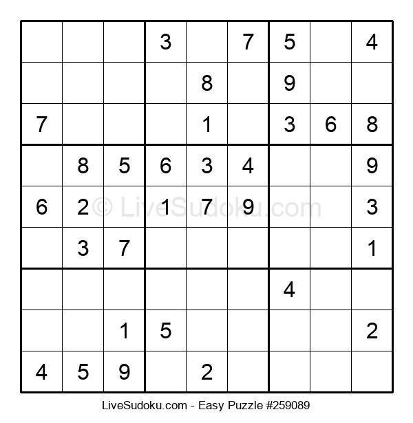 Beginners Puzzle #259089