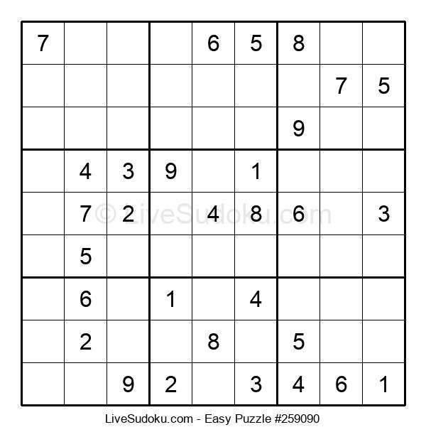 Beginners Puzzle #259090