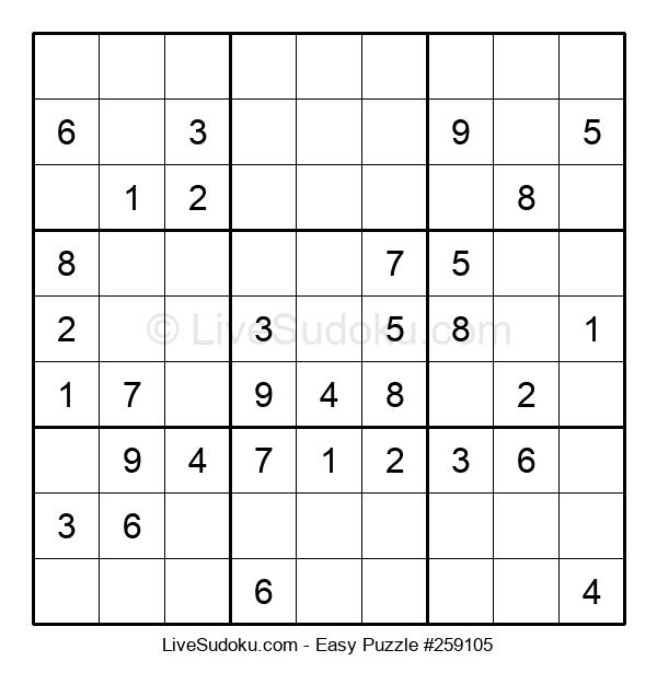 Beginners Puzzle #259105