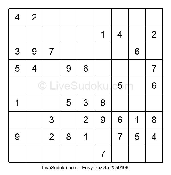 Beginners Puzzle #259106