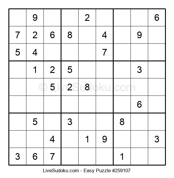 Beginners Puzzle #259107