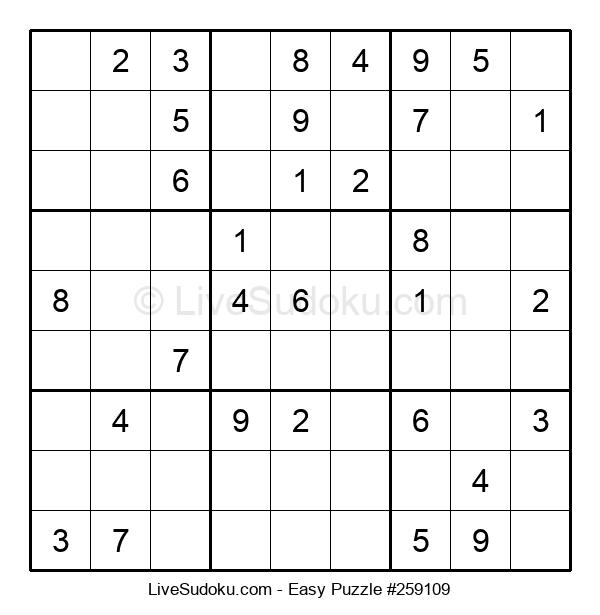 Beginners Puzzle #259109