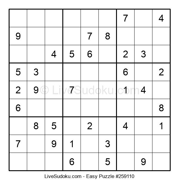Beginners Puzzle #259110